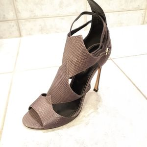 Sergio Rossi shoes size 38.5 fits like 9 US